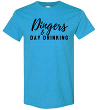Load image into Gallery viewer, Dingers & Day Drinking Tee