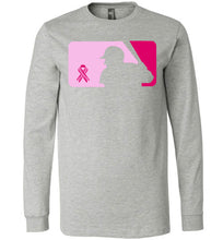 Load image into Gallery viewer, Love Baseball Pink Edition LS Tee