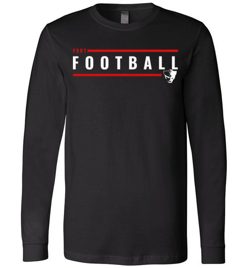 Fort Football Lines LS Tee