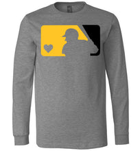Load image into Gallery viewer, Love Baseball Custom Colors LS Tee
