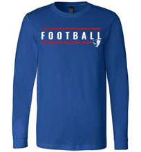 Load image into Gallery viewer, Fort Football Lines LS Tee