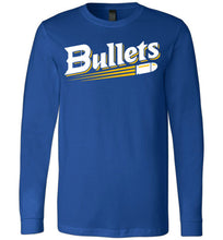 Load image into Gallery viewer, Bullets Baseball Logo LS Tee