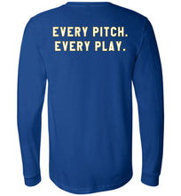 Load image into Gallery viewer, Bullets Every Pitch. Every Play. LS Tee