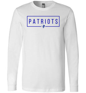 Patriots Square LS Tee