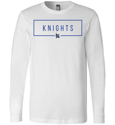 Knights Rectangle LS Tee