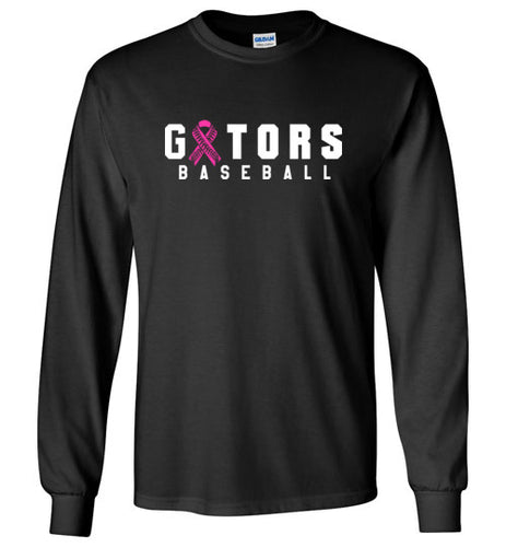 Gators Baseball BC Awareness LS Tee