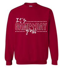 Load image into Gallery viewer, It's Game Day Sweatshirt