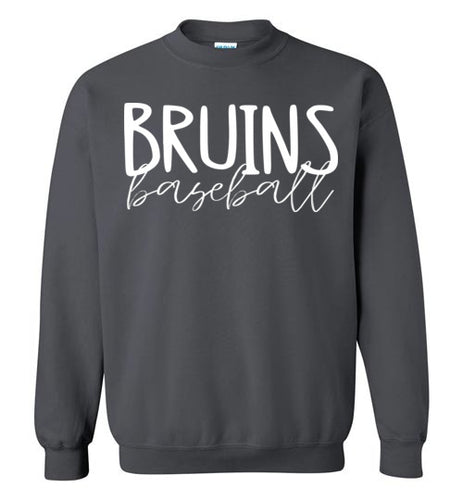 Bruins Thin Script Crewneck Sweatshirt