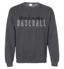 Load image into Gallery viewer, Warhawks Baseball Hollow Crewneck