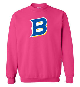 Bullets B Outline Crewneck Sweatshirt
