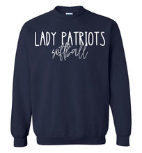 Load image into Gallery viewer, Lady Patriots Thin Script Crewneck