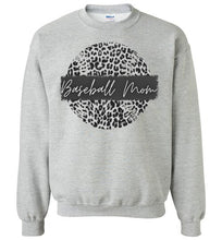 Load image into Gallery viewer, Leopard Baseball Crewneck