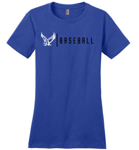 Warhawks Line Baseball Ladies Tee