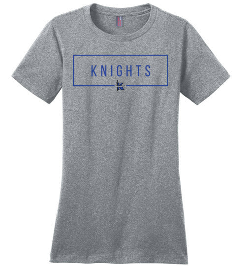 Knights Rectangle Ladies Tee