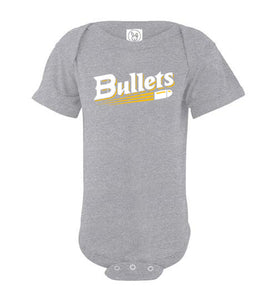 Bullets Baseball Logo Infant Onesie