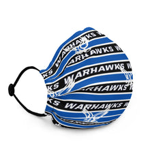Load image into Gallery viewer, Warhawks Stripe Premium face mask