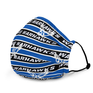 Warhawks Stripe Premium face mask