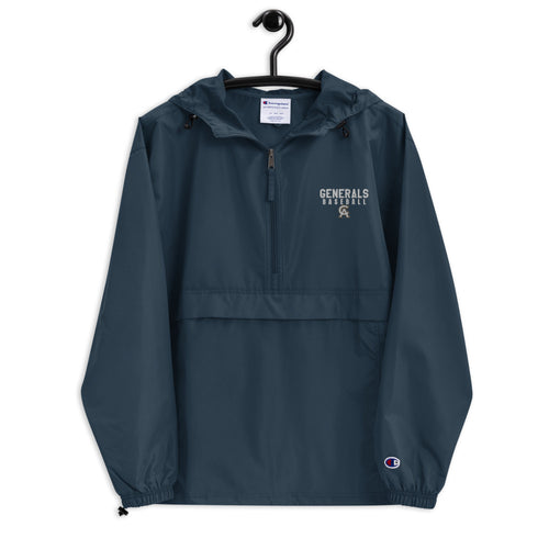 Generals Baseball Embroidered Champion Packable Jacket