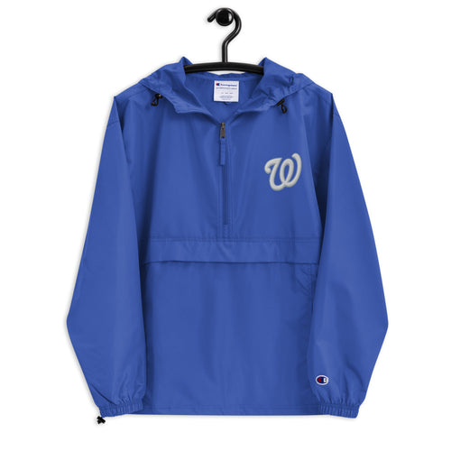 Warhawks Embroidered Champion Packable Jacket