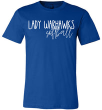 Load image into Gallery viewer, Lady Warhawks Thin Script Tee