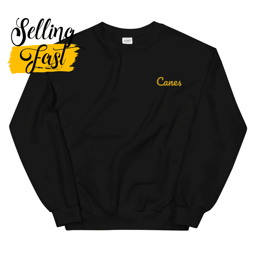 Embroidered Canes Unisex Sweatshirt
