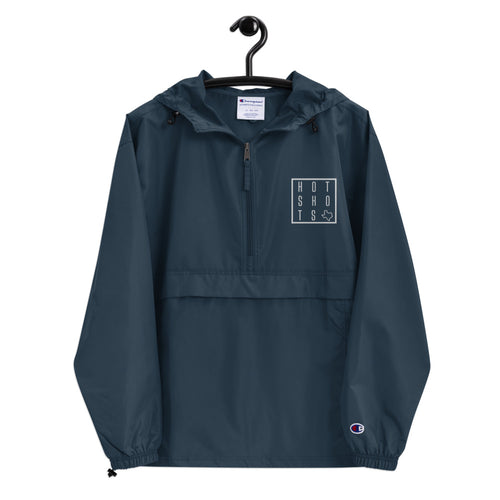 HotShots Square Embroidered Champion Packable Jacket