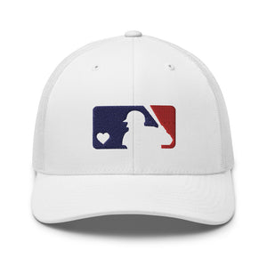 Love Baseball Trucker Cap