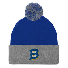Load image into Gallery viewer, Bullets B Logo Pom-Pom Beanie