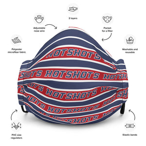 HotShots Striped Premium face mask
