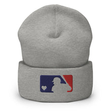 Load image into Gallery viewer, Love Baseball Cuffed Beanie