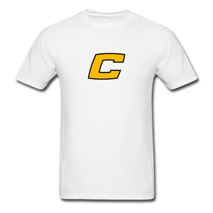 Custom Canes Baseball Tee - white