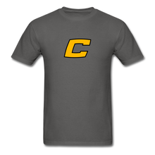 Load image into Gallery viewer, Custom Canes Baseball Tee - charcoal