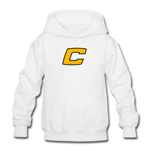 "Load image into Gallery viewer, Canes ""We Too Deep"" Youth Hoodie - white"