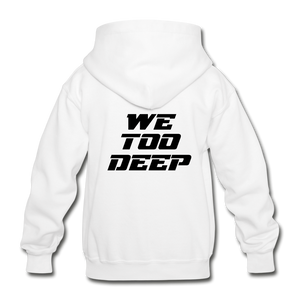 "Canes ""We Too Deep"" Youth Hoodie - white"