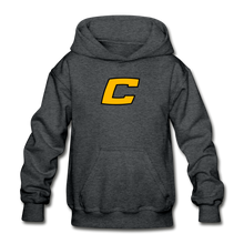"Load image into Gallery viewer, Canes ""We Too Deep"" Youth Hoodie - deep heather"