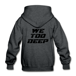 "Canes ""We Too Deep"" Youth Hoodie - deep heather"