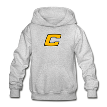 "Load image into Gallery viewer, Canes ""We Too Deep"" Youth Hoodie - heather gray"