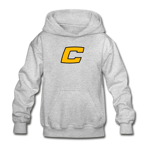 "Canes ""We Too Deep"" Youth Hoodie - heather gray"