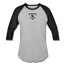 Load image into Gallery viewer, AR Baseball T-Shirt - heather gray/black