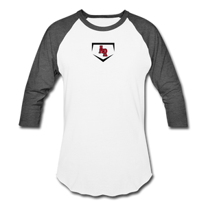 AR Baseball T-Shirt - white/charcoal