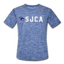Load image into Gallery viewer, SJCA DRI-FIT - heather blue
