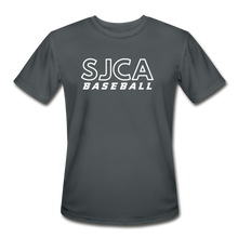 Load image into Gallery viewer, SJCA Baseball Dri-Fit - charcoal