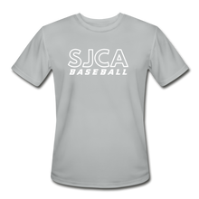 Load image into Gallery viewer, SJCA Baseball Dri-Fit - silver