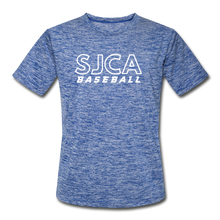 Load image into Gallery viewer, SJCA Baseball Dri-Fit - heather blue