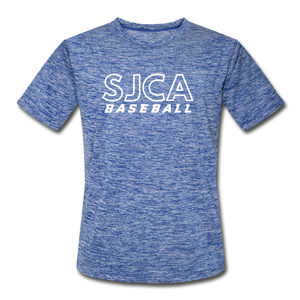 SJCA Baseball Dri-Fit - heather blue
