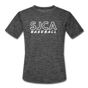 SJCA Baseball Dri-Fit - dark heather gray