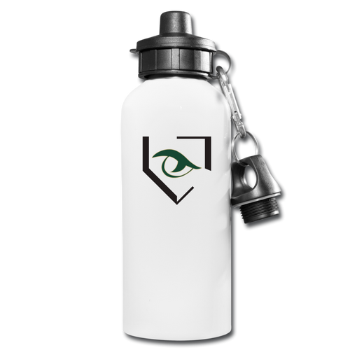Gator Water Bottle - white