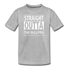 Load image into Gallery viewer, Straight Outta The Bullpen Kids' Premium Tee - heather gray