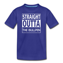 Load image into Gallery viewer, Straight Outta The Bullpen Kids' Premium Tee - royal blue