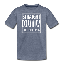 Load image into Gallery viewer, Straight Outta The Bullpen Kids' Premium Tee - heather blue